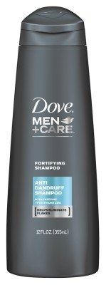 Dove Men + Care Anti pellicules Shampoing Fortifiant - 12 onces, Pack 2