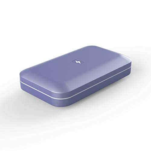 PhoneSoap 3 UV Smartphone Sanitizer & Universal Charger | Patented & Clinically Proven UV Light Disinfector | Periwinkle