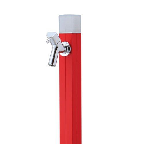 水栓柱 蛇口付 アクアルージュ アイス1.2m 不凍水栓柱 オンリーワン TK3-DK2R ブライトレッド B0793MJKJR