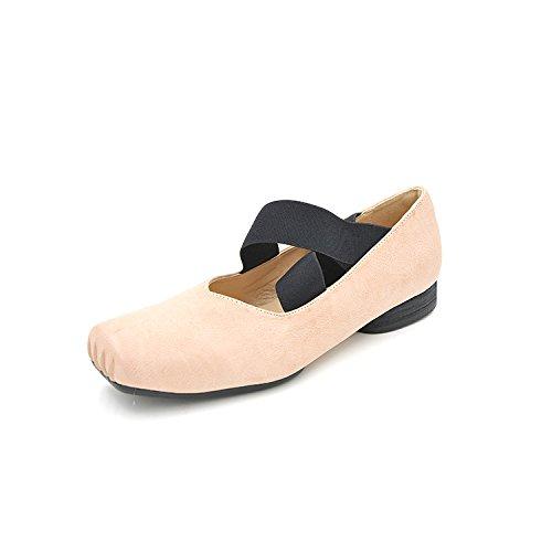 Dans Summer Plate Une Ballet Lag Fille Chaussures Unie De Avec L'lastique Rose lgante Couleur Des Lumire 5wSUzqrgw