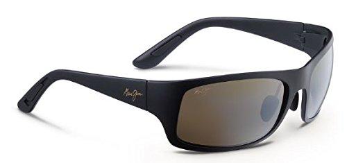 Maui Jim - Haleakala - Matte Black Frame-Polarized Hcl Bronze Lenses