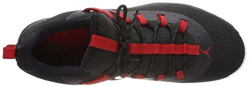 Jordan Ultra Fly 2 Low, Scarpe da Fitness Uomo Multicolore (Black / University Red 001)