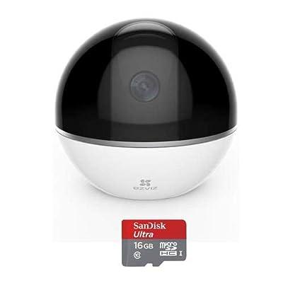 EZVIZ Mini 360 Plus 1080p HD Pan/Tilt/Zoom Home Security Camera from EZVIZ