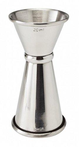 Banded Jigger Measure 20ml 40ml Measure Spirit Cocktail Bar