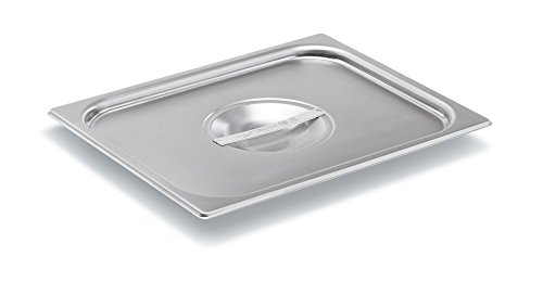 - Vollrath (75120) Super Pan V Steam Table / Hotel Pan Cover (1/2 Size, Stainless Steel)