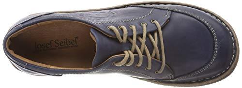 Ocean Josef Mujer Derby Neele Zapatos de Seibel Azul 02 Cordones para 530 wvTSwfOq