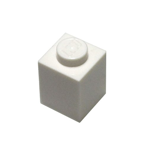 LEGO Parts and Pieces: White 1x1 Brick x100