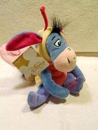 - Disney - Mini Bean Bag Eeyore Love Bug with Pink Wings 8