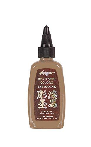 Kuro Sumi Tattoo Ink, Kin-cha Skin Tone, 2 Ounce