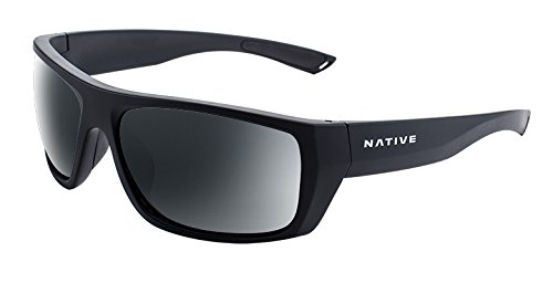 - Native Eyewear Distiller Sunglass, Matte Black, Gray