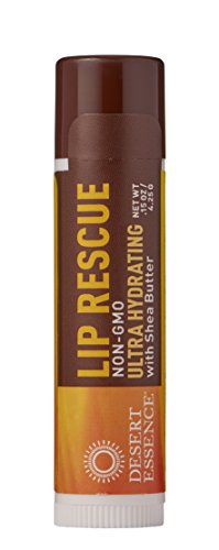Desert Essence, Lip Rescue Shea Butter, 0.15 Ounce