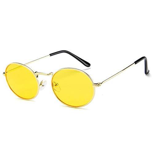 Amazon.com : YLNJYJ Retro Gafas De Sol Ovaladas Mujeres ...
