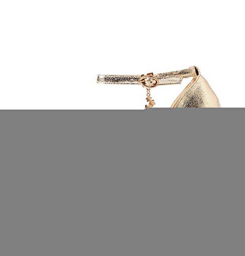 Bout Talon Matériaux 2 Givré Élevé Voguezone009 De De Mélange Fermées Femmes Assorties Noir Pointu Avec Pompes Boucle Uk 5 Des Couleurs qwcBSEv