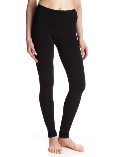Hard Tail Flat Ankle Length Legging, Black, Large