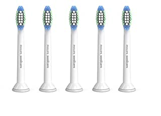 Genuine Philips Sonicare Simply Clean Replacement Toothbrush Heads, 5 Pack, HX6015/03 (B00OELU6B4) | Amazon price tracker / tracking, Amazon price history charts, Amazon price watches, Amazon price drop alerts