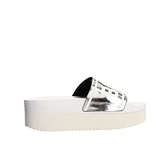 High Ciabatte Beach Gomma Silver The Brand White Holy Donna zA1FpvEqS