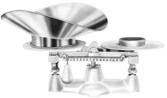 [Penn Scale 1401 SS 16 Pound Bakers Scale with SS Scoop] (16 Lb Bakers Scale)