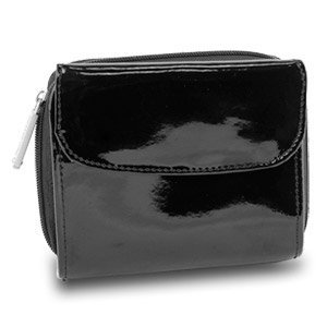 New Travelon Safe ID Leather French Wallet with RFID Blocking ()