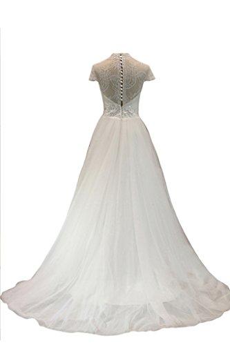 Donna Abito sposa Sunvary da White qSCwCF4Z