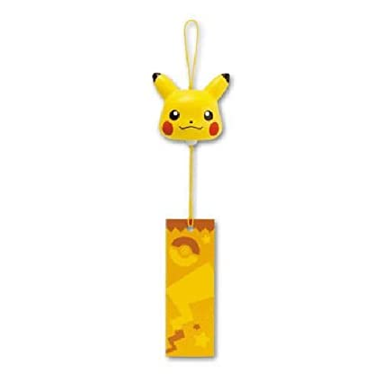 Amazon.com: Pokemon XY Pikachu Wind Chime Bell japonés de ...