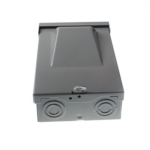 Friday Part FPDS-30A Metallic/Galvanized Steel Enclosure Fused 30 AMP Disconnect Box 240V