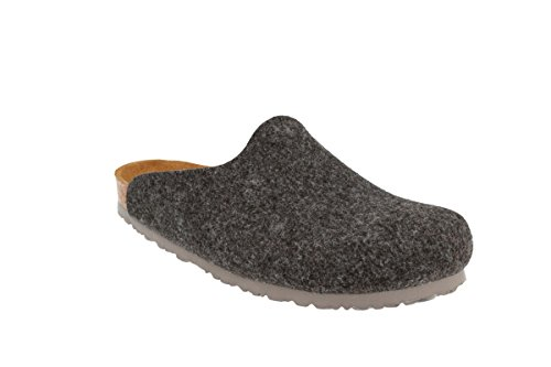 JOE N JOYCE Helsinki Soft-Fußbett Clogs Dark Grey