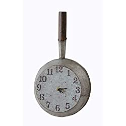 Your Heart's Delight Your Kitchen Skillet Wall Clock, Multi