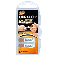 New Duracell Activair EasyTab makes changing your hearing aid batteries as easy as 1-2-3. Easy to open package, Easy to remove the batteries & Easy to insert the battery into your hearing device.