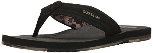 Green Green Island Men Black Quiksilver Sandal Oasis gxXYAB7