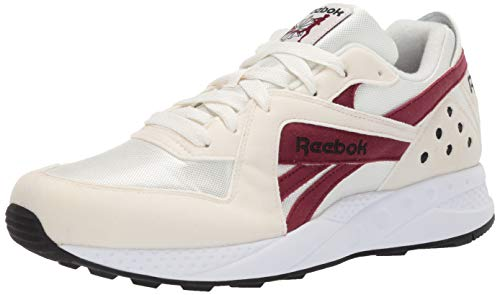 Reebok PYRO, Chalk/Collegiate Burgundy/Black/White, 8 M US
