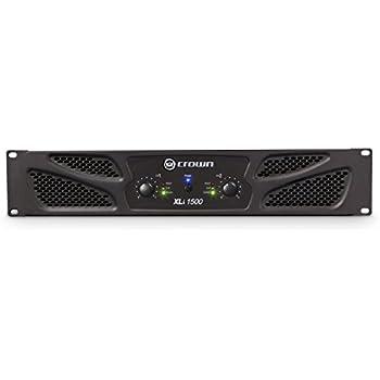 Crown XLi1500 Two-channel, 450W at 4Ω Power Amplifier