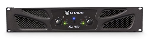 (Crown XLi1500 Two-channel, 450W at 4Ω Power Amplifier)