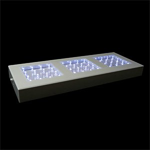513 Glasses - Fortune Products LB-513W Rectangular Light Base with White LEDs, 13