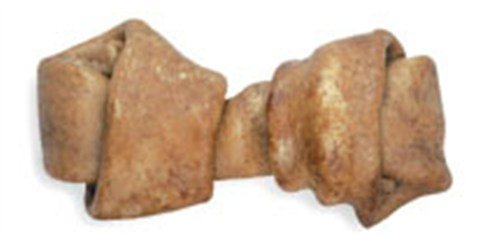 Ranch Rewards Peanut Butter Flavored-Basted Rawhide Bone Dog Treat, 9-10-Inch, My Pet Supplies