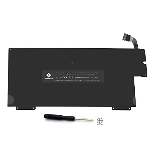 E EGOWAY 37Wh/5100mAh Replacement Battery A1245 A1237 A1304, Made for Early/Late 2008 Mid 2009 MacBook Air 13 inch