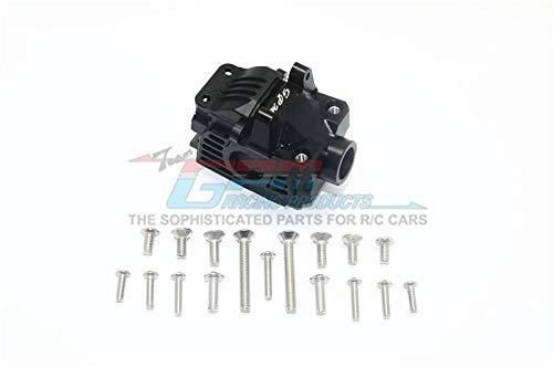 Traxxas Rustler 4X4 VXL (67076-4) Upgrade Parts Aluminum Front Gear Box -1 Set Black (Front Gearbox Set)