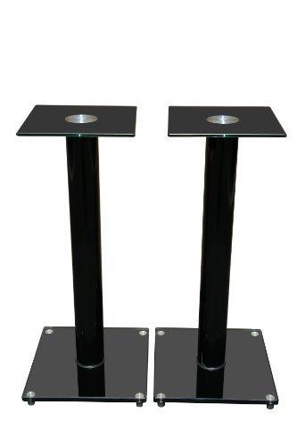 Mount-It. Soportes para altavoces de piso para altavoces satélite y sistemas de sonido envolvente (5.1y 2.1), vidrio y...