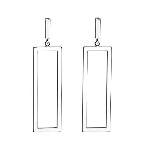 Geometric Drop Earrings, Rectangle Dangle Earrings for Women Girls Birthday Gifts, ()