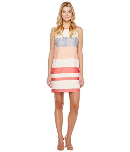 スポット数値傷跡[ヴィンスカムート] Vince Camuto レディース Sleeveless Veranda Stripe Shift Dress ドレス Rossetto 10 [並行輸入品]