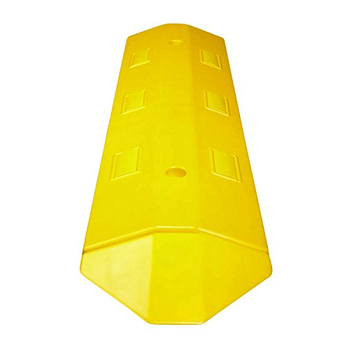 Electriduct Ultra Light Weight Economy Speed Bump - Yellow - 2 Pieces (6 Feet) - Concrete by Electriduct (Image #4)
