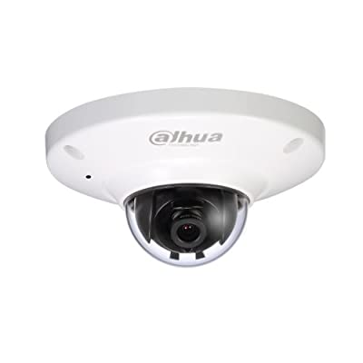 Dahua ECO-SAVVY IPC-HDB4300C 3 Megapixel 2.8mm Lens Wide Angle 1080P HD Outdoor/Indoor UFO Type Network Security Surveillance CCTV IP Camera PoE Power Over Ethernet