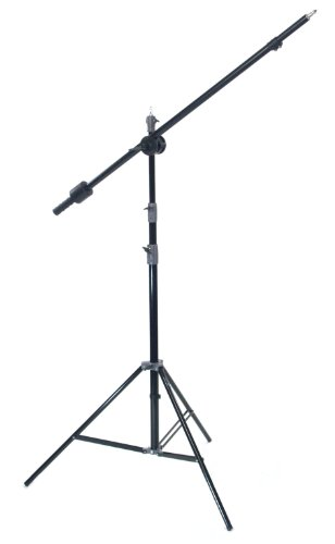 ALZO Studio Boom Kit, Adjustable Boom with Clamp And Heavy Duty 10 Foot Light Stand by ALZO Digital