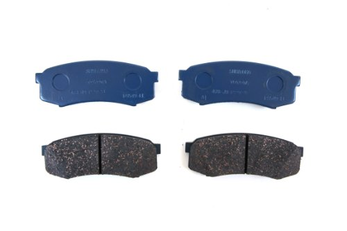 Toyota Genuine Parts 04466-60090 Rear Brake Pad (Toyota 4runner Brake)