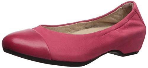 (Dansko Women's Lisanne Ballet Flat, Raspberry Milled Nubuck, 40 M EU (9.5-10 US))