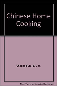 Book Chinese Home Cooking