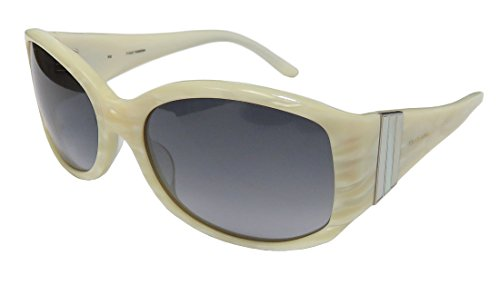 Celine Dion 5504 Womens/Ladies Designer Full-rim 100% UVA & UVB Lenses Sunglasses/Sun Glasses (57-18-130, Ivory - White Sunglasses Celine