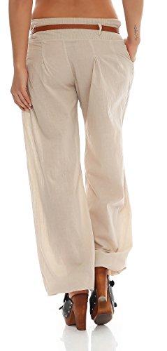 pantalones cintur Ao Chino 4tuality con Bouffant tq8xC0wF