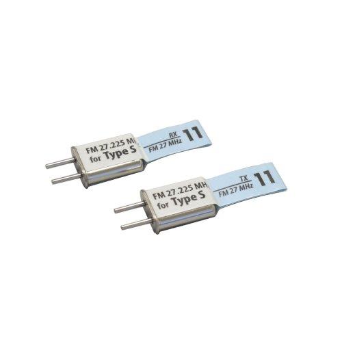 Crystal set FM27MHz-11 band (for Sanwa) 36210-S11 (japan import)