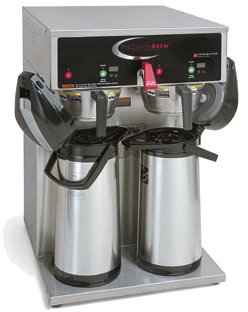 Grindmaster-Cecilware B-DAP PrecisionBrew Digital Airpot Brewer, Twin