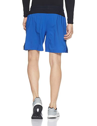 Under Armour Men's Launch 2-in-1 Shorts,Lapis Blue (984)/Reflective, Large by Under Armour (Image #2)